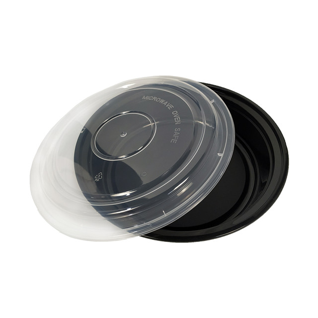 48oz Round Disposable Plastic Packaging Containers