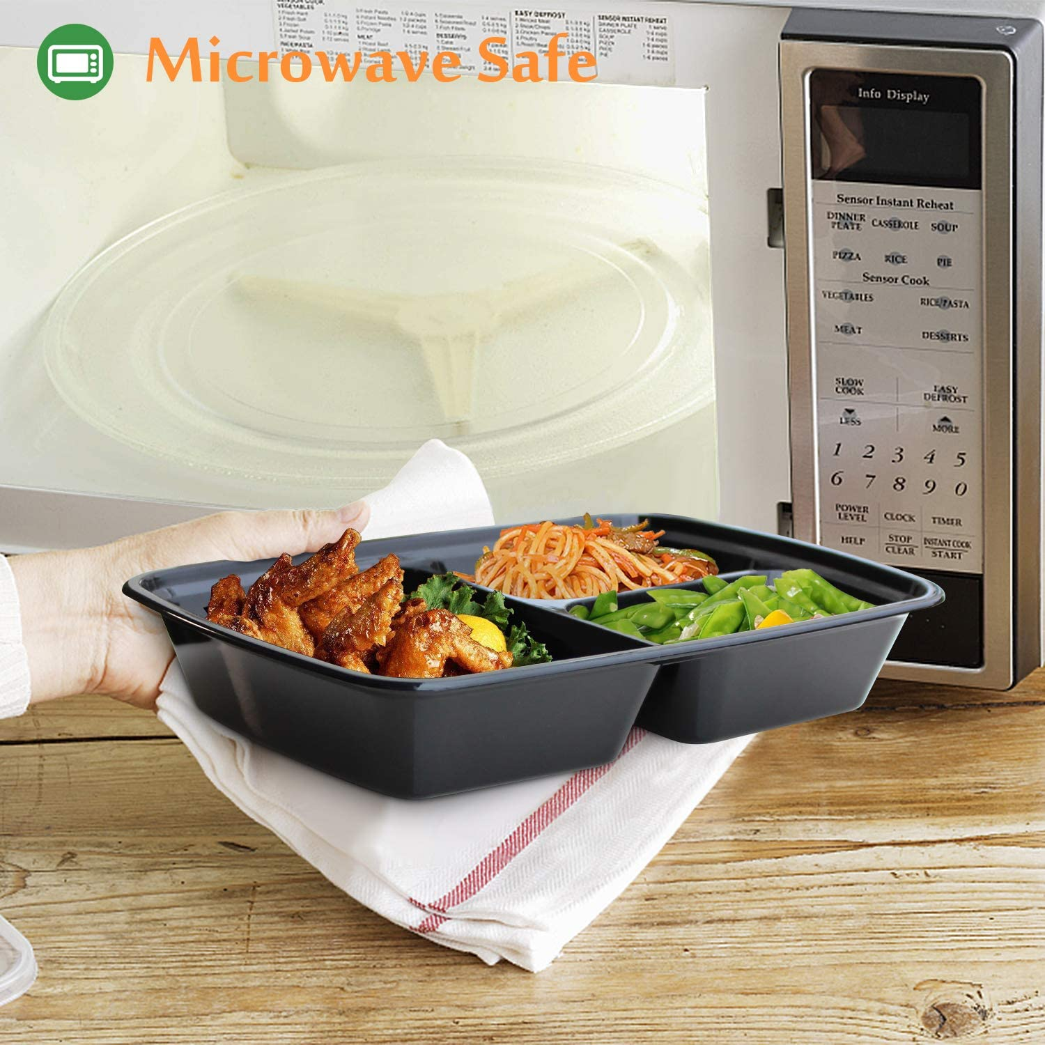 Are your microwave containers safe